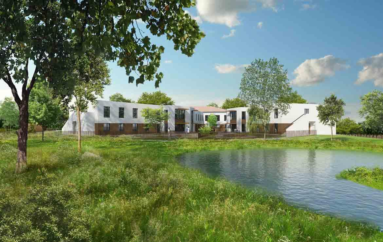 Location meublée Fidexi - Villa Valrose à Latresne - Perpective du programme Villa de Valrose
