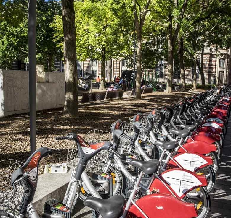 Station vélo à Toulouse - Programme en Nue-Propriété à Toulouse