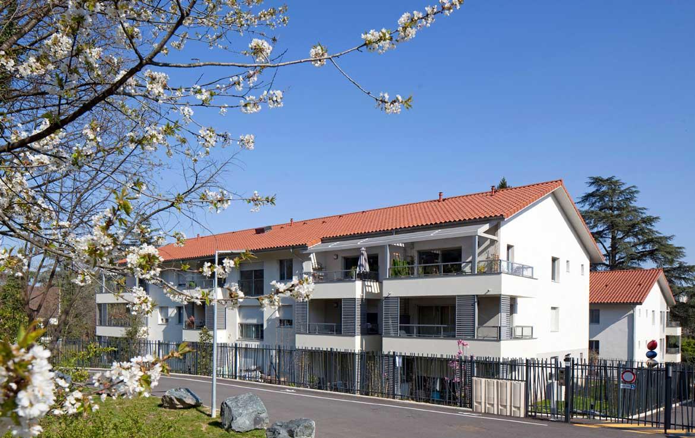 """Nue-propriété à Ecully - Lyon, résidence """"West Park"""""""