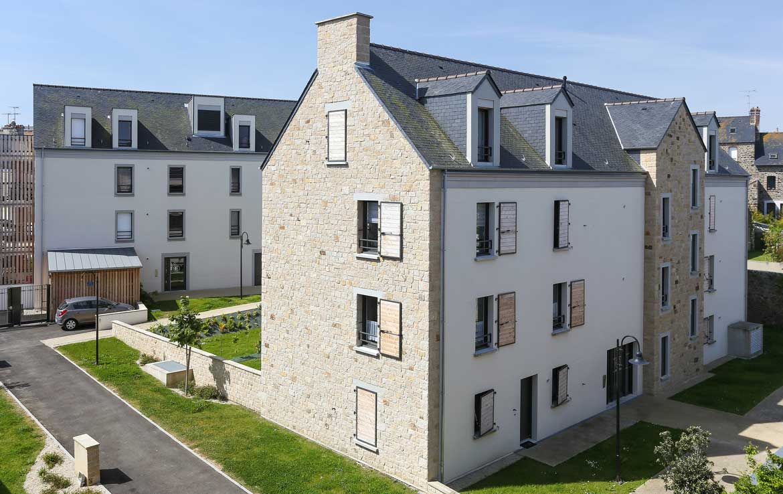 """Nue-propriété à Saint-Malo, résidence """"Le Clos des Régatiers"""""""