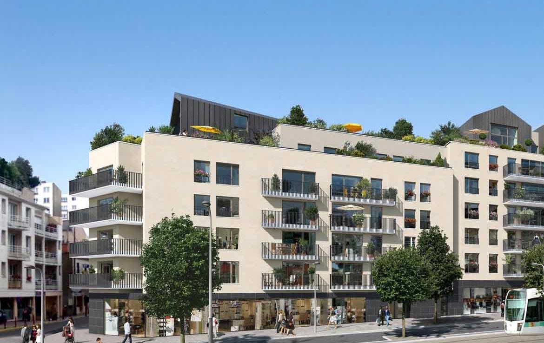 Perspective - Programme en Nue-Propriété à Châtillon