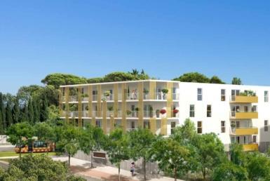 Perspective Folia Verde, Programme en Nue-Propriété à Montpellier