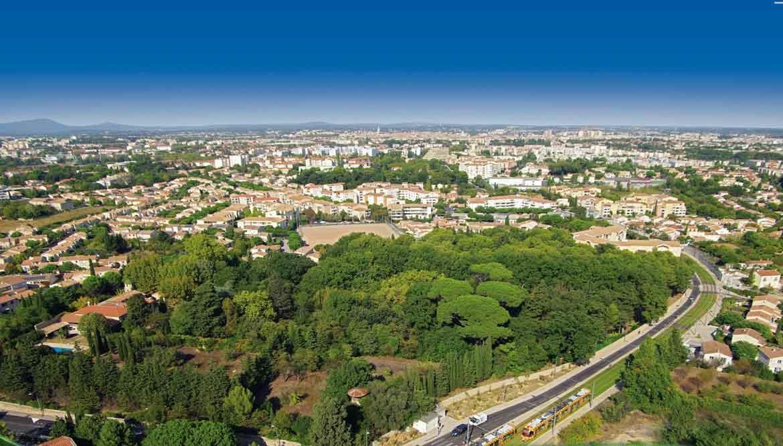 Vue panoramique - Folia Verde, Programme en Nue-Propriété à Montpellier