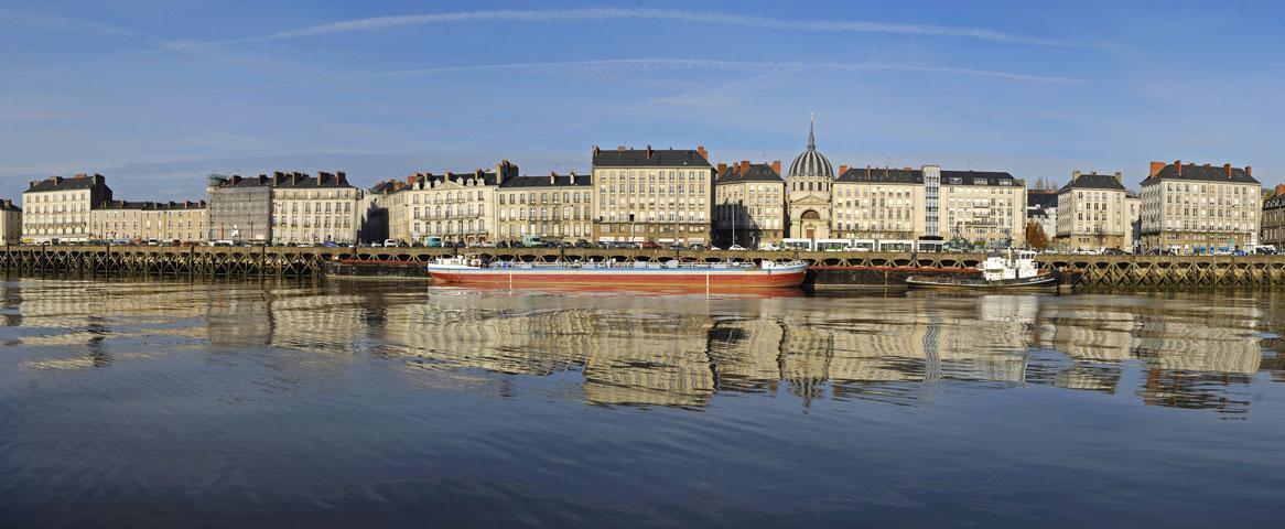 Fidexi - Résidence en Nue-propriété à Nantes - Bords de Loire