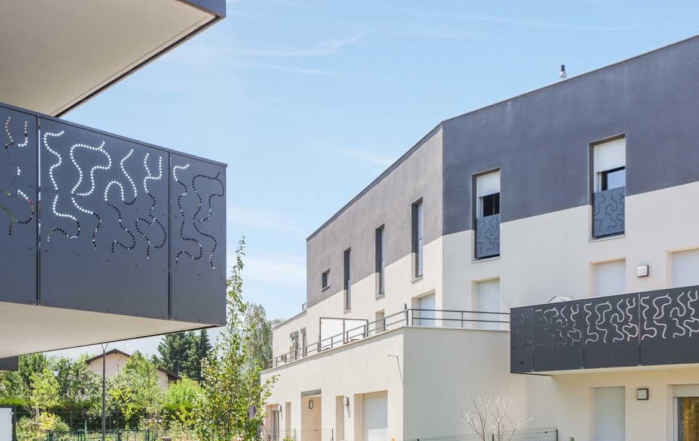 "Nue-propriété à Neydens, résidence ""Minéraly"""