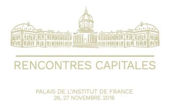 Fidexi mécène de l'Académie des sciences-Rencontres Capitales 2016