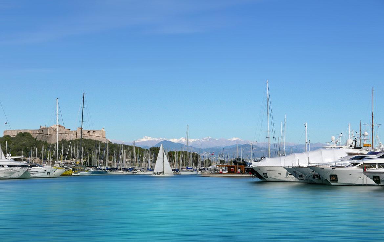 Fidexi - Résidence en Nue-propriété à Juan-les-Pins - Port d'Antibes