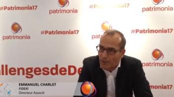 Fidexi interview d'Emmanuel Charlet à Patrimonia en 2017