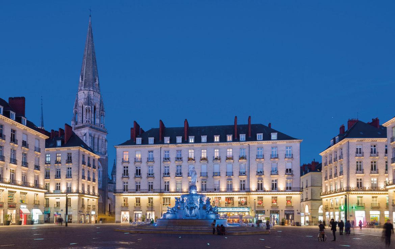 Fidexi - Résidence en Nue-propriété à Nantes - Place Royale