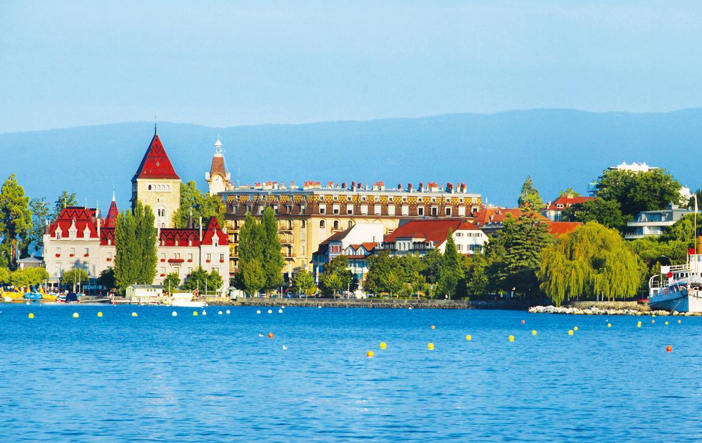 Fidexi - Résidence en Nue-propriété à Évian-les-Bains - Lausanne - Suisse