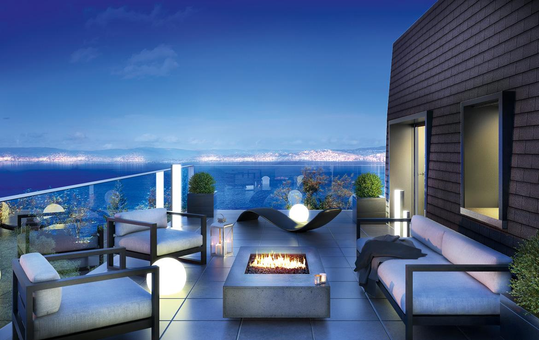 Fidexi - Résidence en Nue-propriété à Évian-les-Bains - Living Léman - Vue Lac Léman