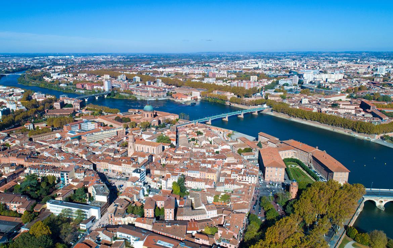 Fidexi - Résidence en Nue-propriété à Toulouse - Vue sur Saint Cyprien