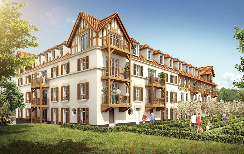 Fidexi - Résidence en Nue-propriété à Trouville-sur-Mer - Résidence Andersen - Bat. 2