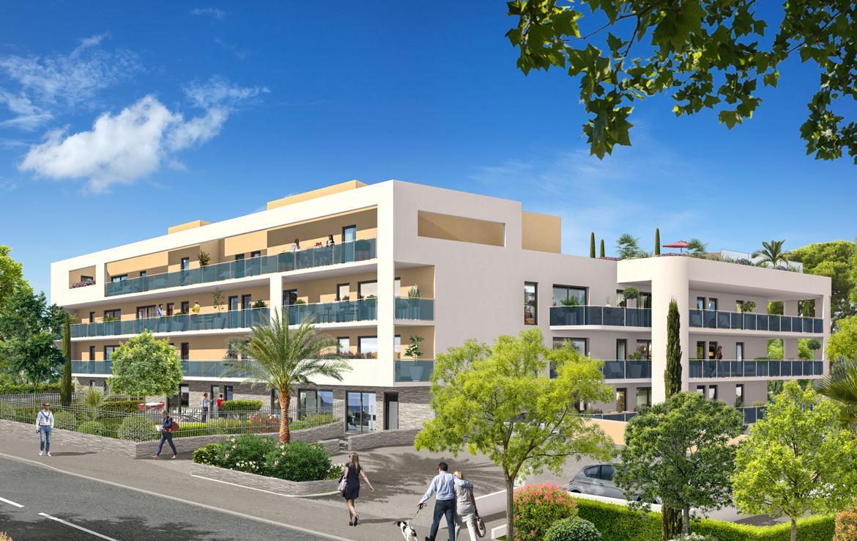 Fidexi - Résidence en Nue-propriété à Bormes-les-Mimosas - Villa Levante - avenue des Girelles