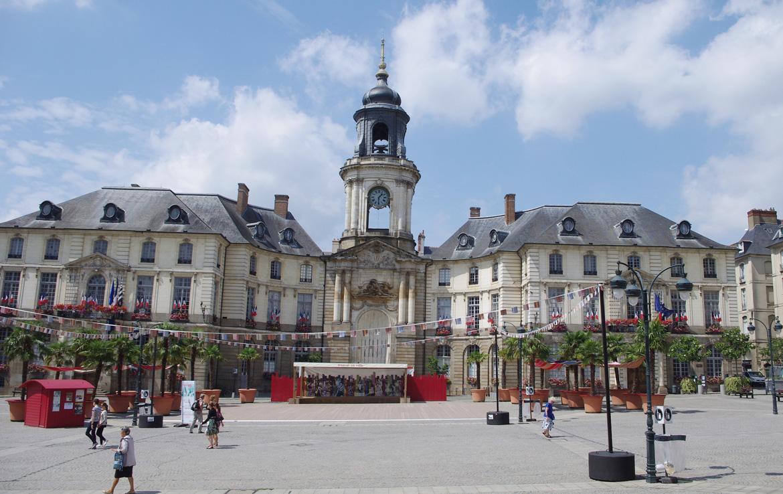Fidexi - Résidence en Nue-propriété à Rennes - Hôtel de Ville de Rennes