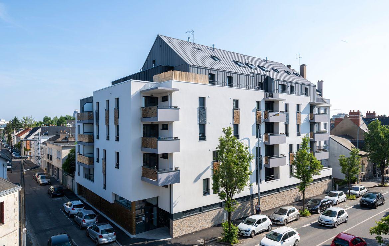 """Fidexi - Résidence en Nue-propriété à Nantes - """"Elégance"""""""