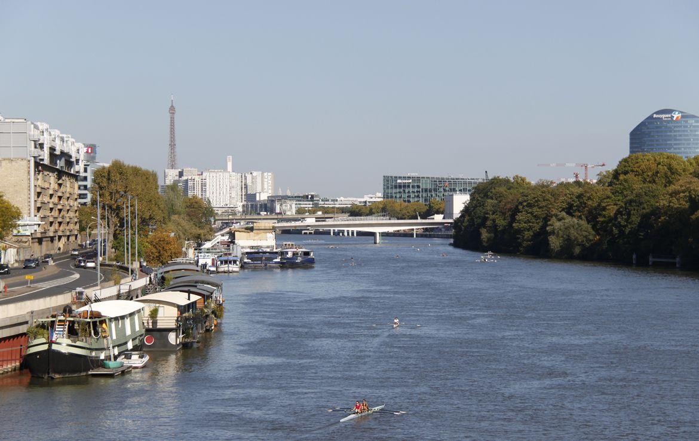 Fidexi - Résidence en Nue-propriété à Issy-les-Moulineaux - Vue sur Paris