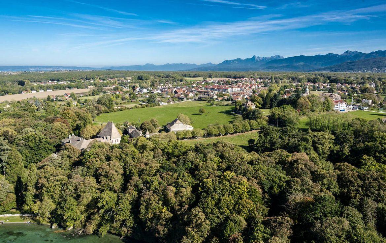 Fidexi - Résidence en Nue-propriété à Chens-sur-Léman - Vue Château de Beauregard