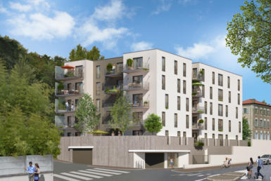 Fidexi - Résidence en Nue-propriété à Ecully - Lyon - La Villa des Roches