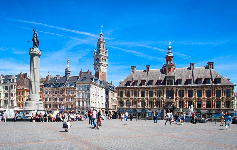 Résidence en Nue-propriété à La Madeleine - Lille, La Grand'Place de Lille