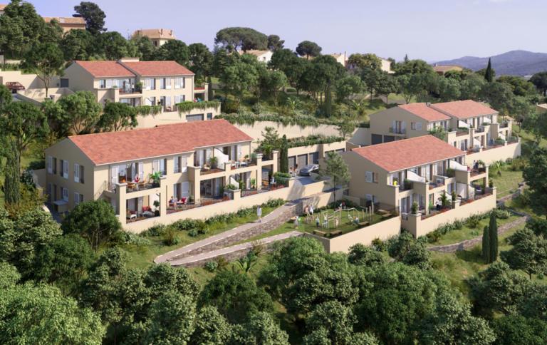 Nue-propriété à Bormes-les-Mimosas, résidence