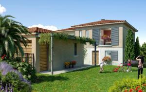 """Perspective de la résidence en Nue-propriété """"Only Roc"""" à Roquebrune-sur-Argens"""