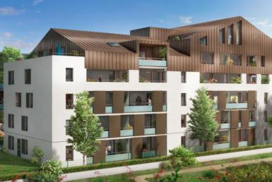 """Fidexi - Résidence en Nue-propriété à Toulouse - """"Le 234 Avenue"""""""