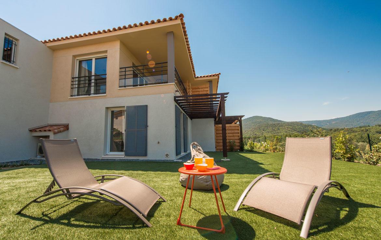 Nue-propriété à Roquebrune-sur-Argens, résidence Only Roc
