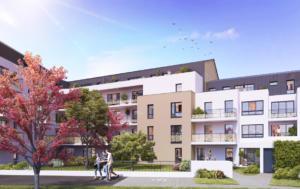 """Résidence en Nue-propriété à Nantes, """"Cours Lamartine"""""""