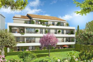 """Nue-propriété à Cannes, résidence """"Les Jardins des Coteaux"""""""