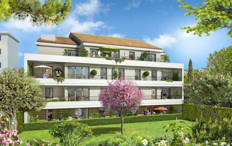 Nue-propriété à Cannes, résidence