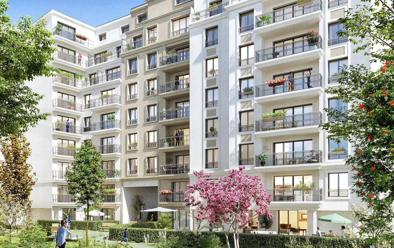 Nue-propriété à Bourg-la-Reine, résidence Le 36 Leclerc