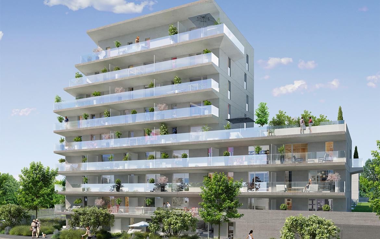 Investir en Nue-propriété à Nantes, résidence Orchestra, bâtiment Adagio