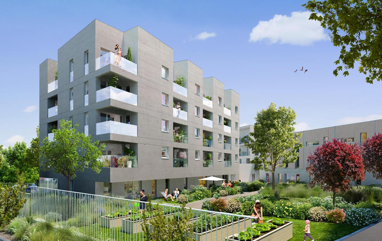 Investir en Nue-propriété à Nantes, résidence Orchestra, bâtiment Allegro