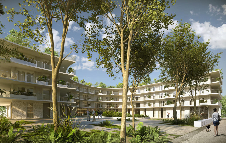 Investir en Nue-propriété à Villeneuve-Loubet, résidence Vaugrenier Bay