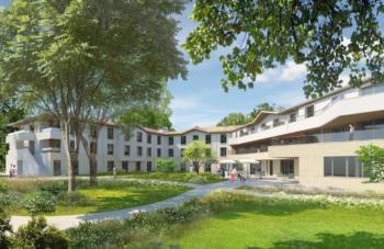 Investir en Location meublée EHPAD à Pessac, Villa Bourgailh