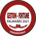 Palmarès Gestion de Fortune 2021 – Fidexi récompensée dans la catégorie Démembrement
