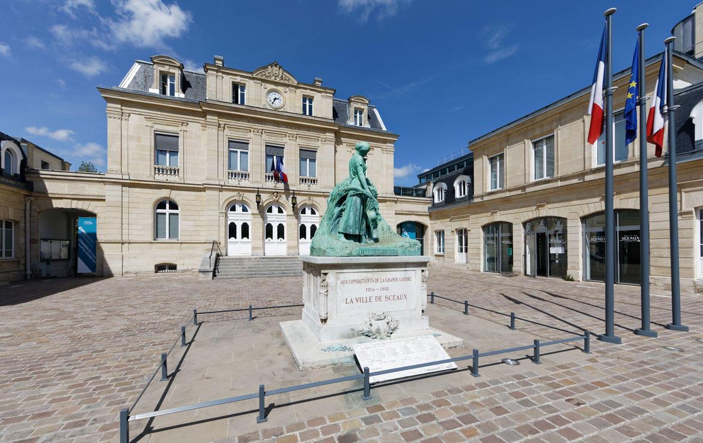 Investir en Nue-propriété à Sceaux, mairie de Sceaux