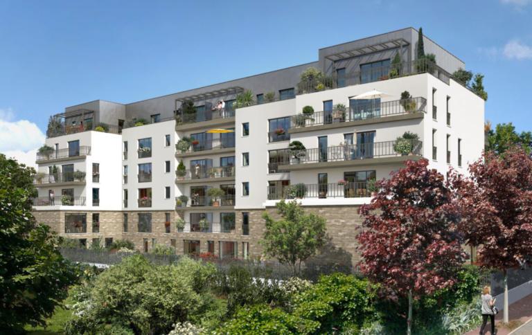 Investir en Nue-propriété à Sceaux, résidence