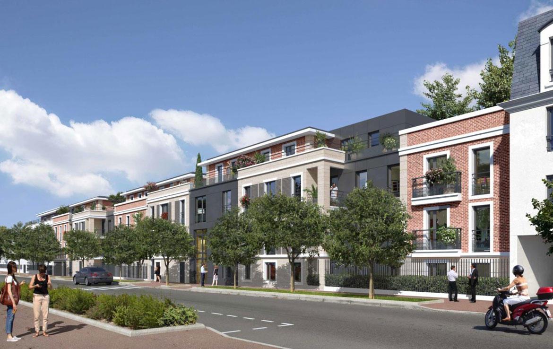"""Investir en Nue-propriété dans les Yvelines, résidence """"Villa Carnot"""" à Croissy-sur-Seine"""