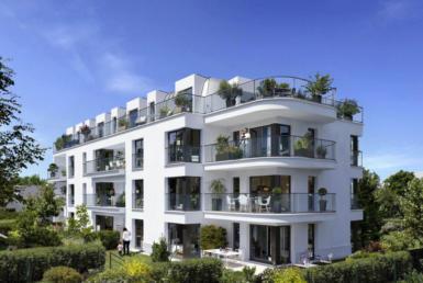 """Investir en Nue-propriété à Garches dans les Hauts-de-Seine, résidence """"L'Albatros"""""""