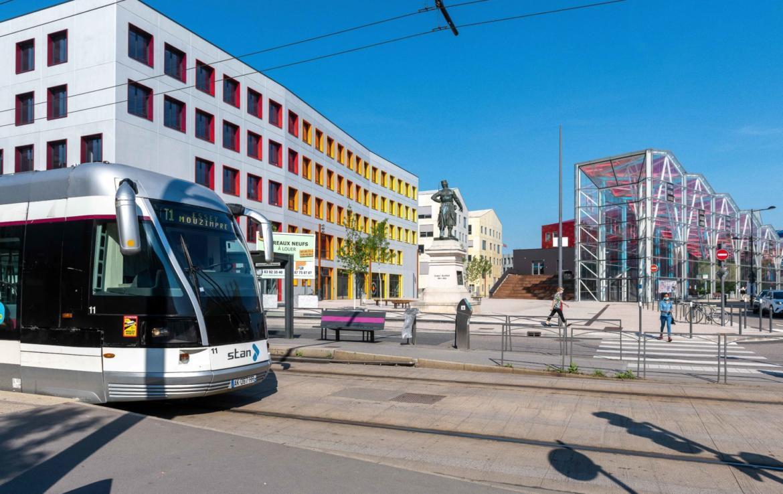 Investir en Location meublée à Nancy, tramway