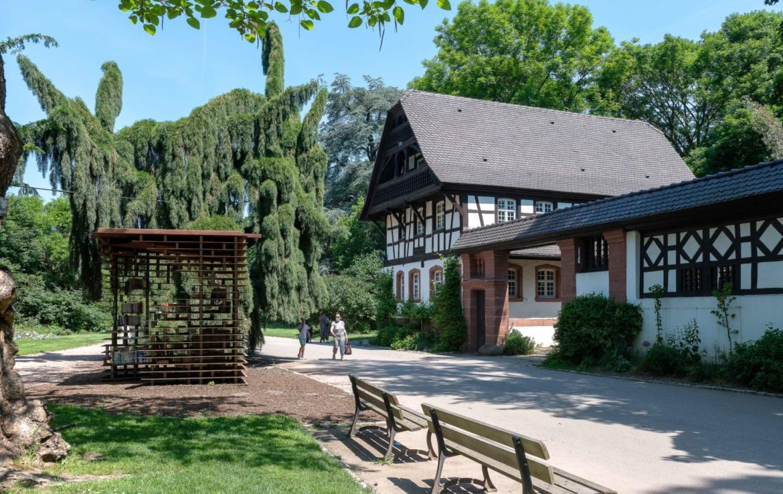 Investir en Location meublée à Nancy, parc Sainte Marie