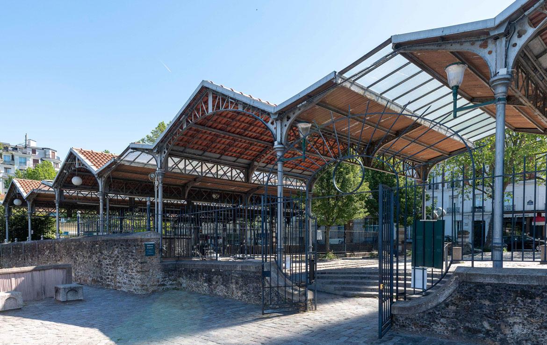 Investir en Nue-propriété à Paris, le marché aux livres du parc Georges Brassensux livres du parc Georges Brassens