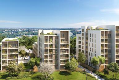Investir en nue-propriété à Nantes, résidence Ecloz