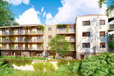 Investir en nue-propriété à St-Genis-Laval, résidence L'Ecrin, aux portes de Lyon